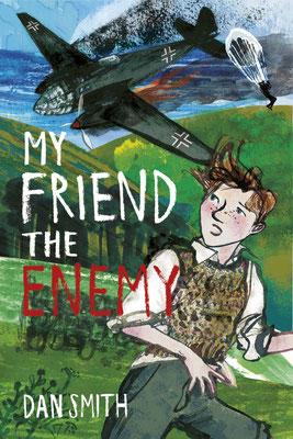 "Jill Calder Illustration - Books - ""My Friend The Enemy"" by Dan Smith - ChickenHouse Books"