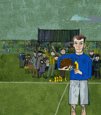 Jill Calder Illustration - General Illustration - Genes Reunited