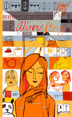 Jill Calder Illustration - General Illustration - Turning Point Charity - Scotland