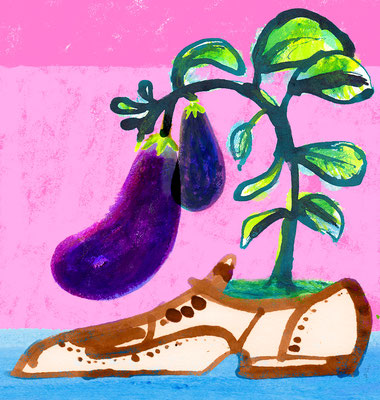 Jill Calder Illustration - General Illustration - Gardens - Nutrition - Lifestyle - Grow Anything Anywhere at Home