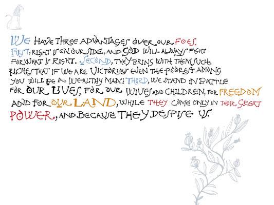 Jill Calder Illustration - Lettering
