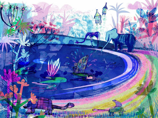 Jill Calder Illustration - Children's Illustration - Royal Brompton Hospital