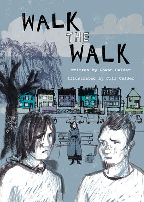 "Jill Calder Illustration - Books - ""Walk the Walk"" by Gowan Calder - Scottish Book Trust"