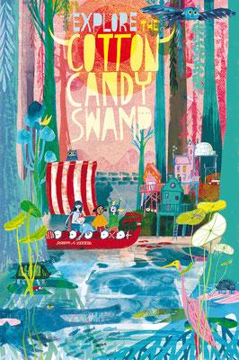 Jill Calder Illustration - Children's Illustration - Radio Flyer