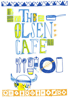 Jill Calder Illustration - Lettering