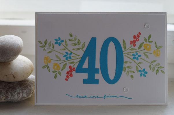 40. Geburtstag - Patricia Stich 2016