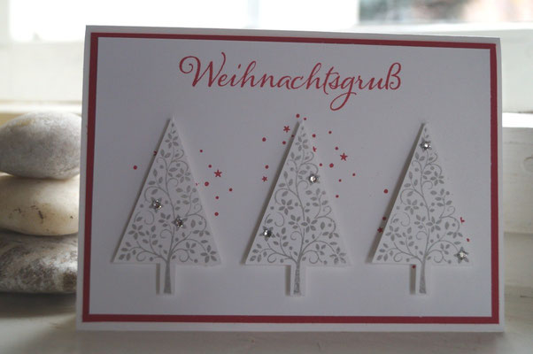Christbaumfestival von Stampin´Up! - Patricia Stich 2015