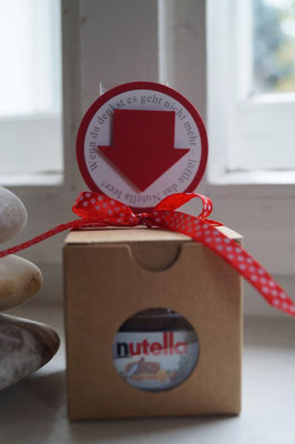 Nutella schön verpackt - Patricia Stich 2015