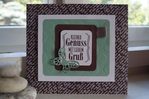 Riesen-Kuvert für einen Gutschein - Patricia Stich 2015
