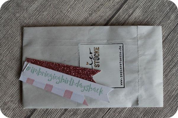 Unsere Upline Claudia hat für uns alle diesen tollen Stempel verpackt - den wollte ich sowieso unbedingt haben! Danke!