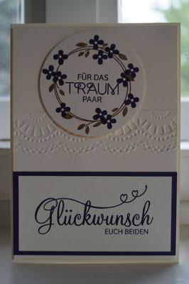 Hochzeitskarte - Patricia Stich 2015 - Frühlings- / Sommerkatalog