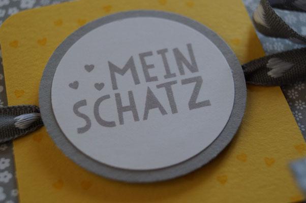 Cover des Schwangerschaftsalbums - Patricia Stich 2015