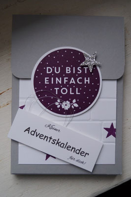 Adventskalender to go mit Lob - Patricia Stich 2015