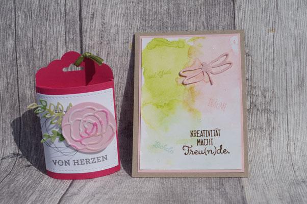 Rosa und rosa - sehr schnieke