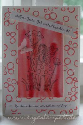 """Die kleine Fee von """"Einfach zauberhaft"""" - Patricia Stich, unabhängige Stampin´Up! Demonstratorin"""