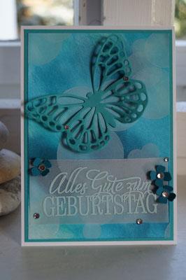 Bokeh-Technik mit Schmetterling - Patricia Stich 2015