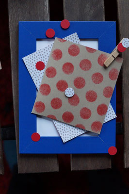 Wechselbilderrahmen - Patricia Stich 2015 - Teenie-Workshop Weihnachten