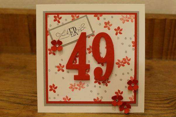 Zum 49. Geburtstag - Patricia Stich 2016