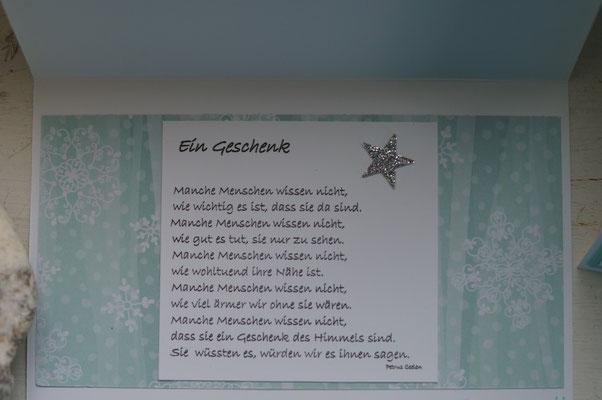 Geschenk, ein Gedicht mit Tiefgang - Patricia Stich 2015