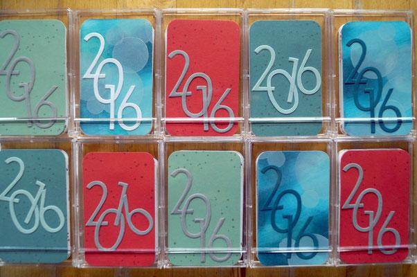 Visitenkarten-Kalender 2016 - Patricia Stich 2015