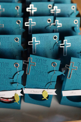 Goodies für die Gäste der Kommunion