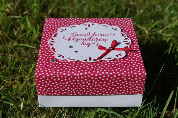 Kleine quadratische Box - Patricia Stich 2018