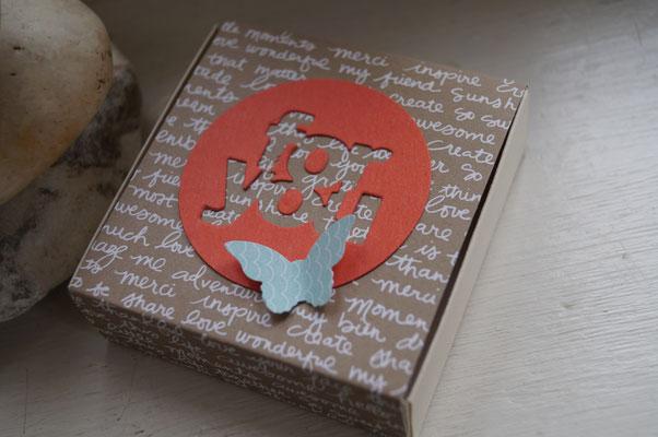 Eine Mini-Kartenbox von Anette