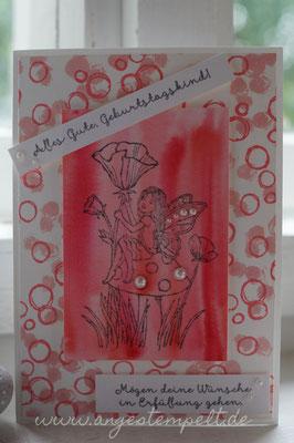 """""""Einfach zauberhaft"""" und """"Playful Backgrounds"""" von Stampin´Up! - Patricia Stich 2016"""