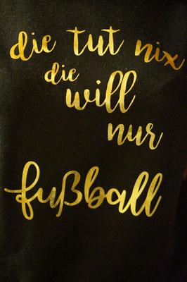 Shirt für mein Fußball-Mädl