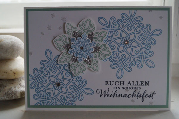 Elementstanze Schneeflocke - Patricia Stich 2015