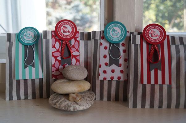 Tüten mit süßem Inhalt als Goodies - Patricia Stich 2015