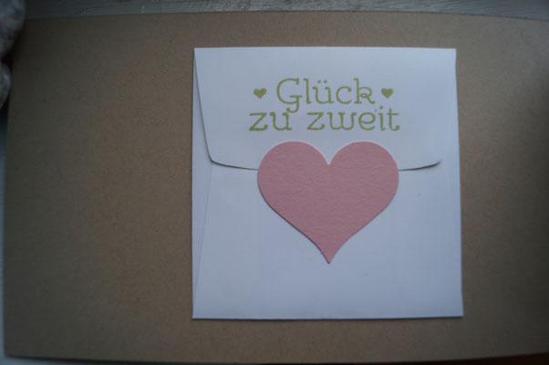 Kuvert für Geld auf der Innenseite - Patricia Stich 2015