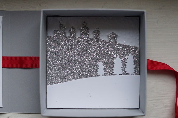 Winterlandschaft Edgelits Schlittenfahrt - Patricia Stich 2015