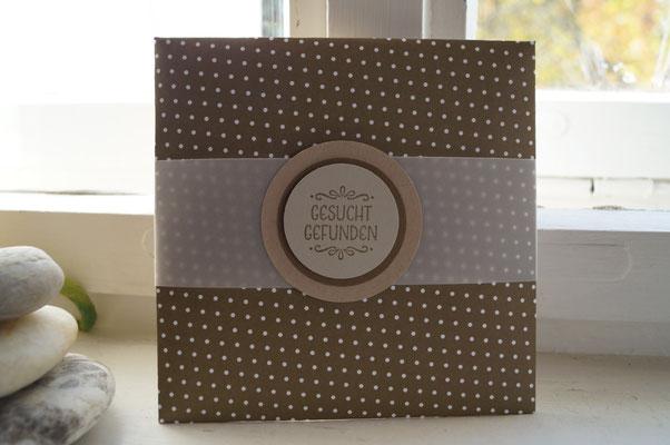 Ein passendes Kuvert mit dem Envelope Punch Board - Patricia Stich 2015