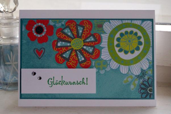 Geburtstagskarte - Patricia Stich 2015