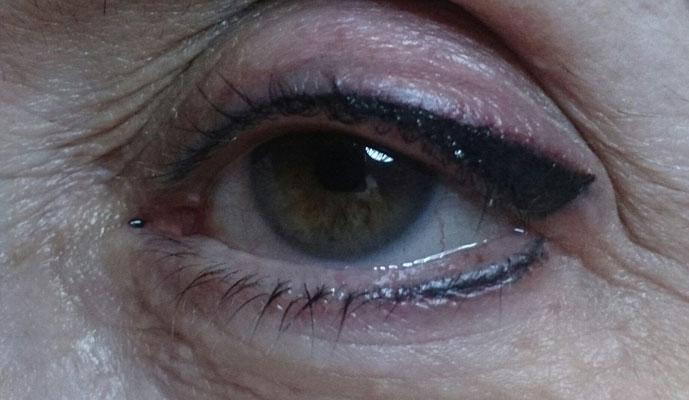 Ojos En Gris Plomo