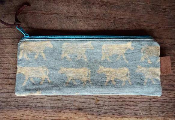 Täschchen handprinted/handmade by develloppa