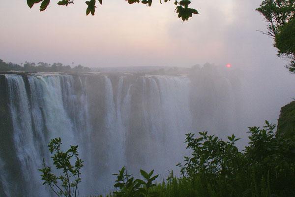 Victoria watervallen, Zimbabwe