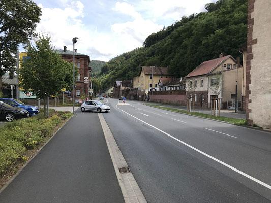 Mainzer Straße vom Mainzer Turm aus gesehen