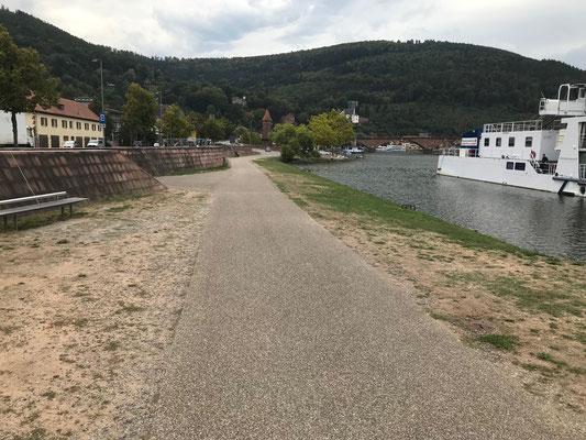 Beginn der Promenade
