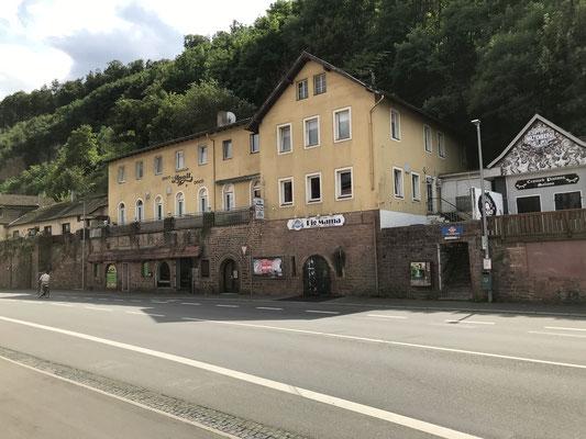 Mainzer Straße im Geltungsbereich der Altstadtsatzung