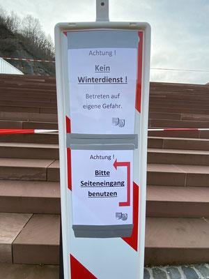 Miltenberg Mainzer Tor gesperrt