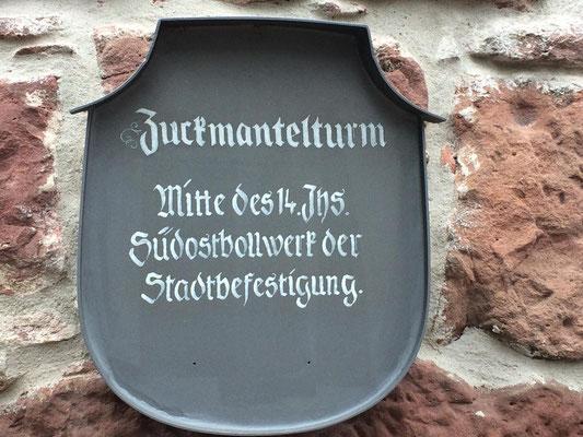 Bild 2 Zuckmantelturm in Miltenberg