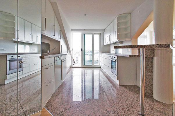 Küche Penthouse Wiesbaden