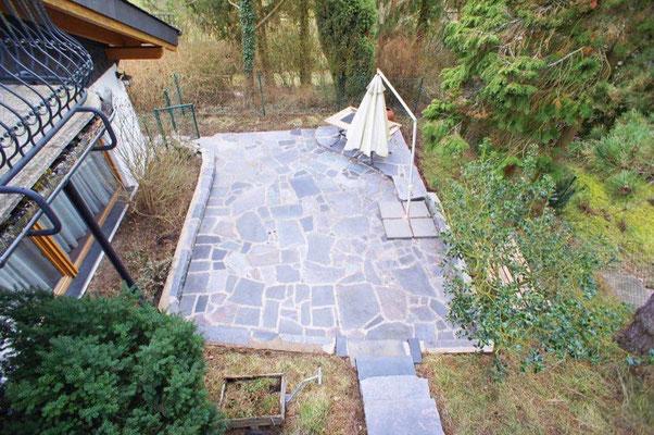 Terrasse Architektenvilla Bad Schwalbach