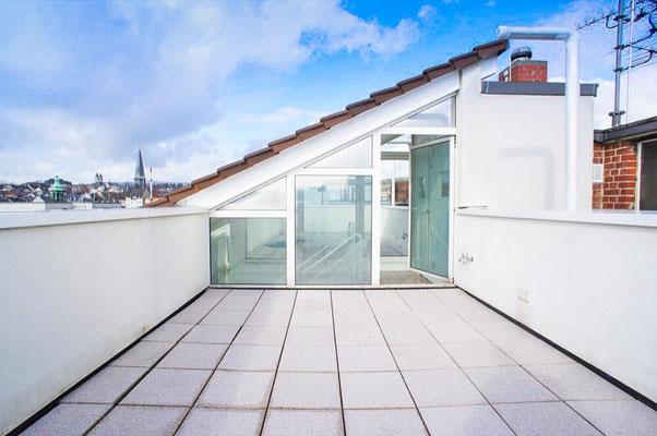 Dachterrasse Penthouse Wiesbaden