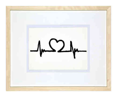 "Edzard Dideric ""Heartbeat"" framed print 2014 loveprototo Köln, Germany"