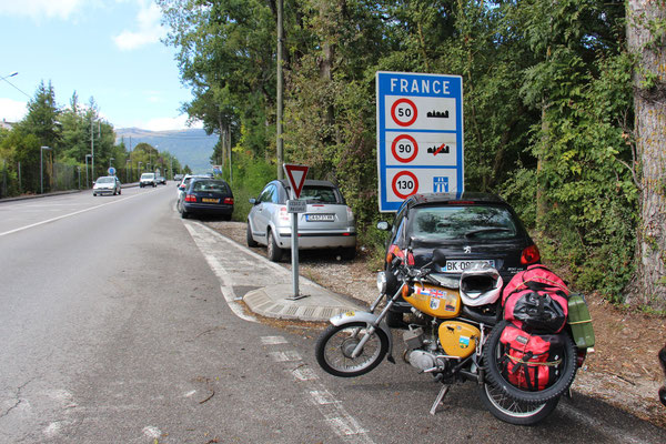 Französische Grenze