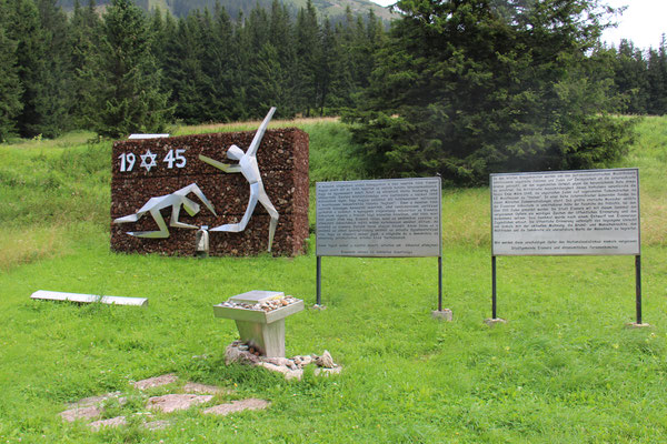 Erinnerung an den Todesmarsch 1945