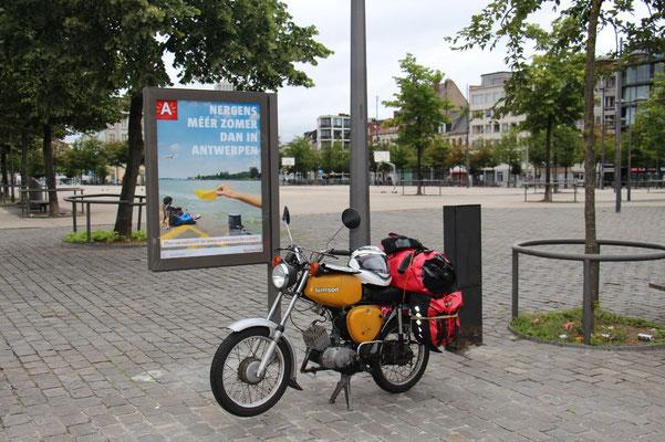 Start in Antwerpen